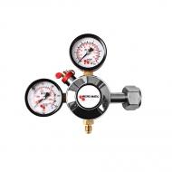 Redukční ventil MM CO2 1 st. se využívá k nastavení pracovního tlaku z plynových lahví s CO2.