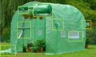 Zahradní fóliovník 3x2m s UV filtrem