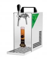 Výčepní zařízení PYGMY 20/K Green Line s vestavěným vzduchovým kompresorem je vhodný prostředek pro čepování piva na venkovních party a malých oslavách.