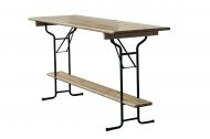 Skládací barový stůl - délka 220cm.