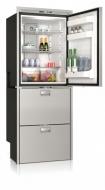 Kompresorová chladnička VITRIFRIGO DW360 DTX 12/24V (horní chladnička 157l, horní zásuvka - mrazák 80l,spodní zásuvka - chladnička 64l).
