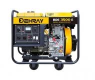 Jednofázová elektrocentrála DEHRAY RDE3500E.