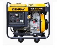 Jednofázová elektrocentrála DEHRAY RDE6500Ei.
