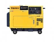 Jednofázová elektrocentrála DEHRAY RDE6500Ti.