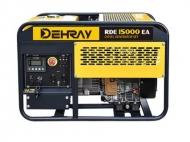 Jednofázová elektrocentrála DEHRAY RDE15000EA.