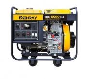 Třífázová elektrocentrála DEHRAY RDE6500Ei3.