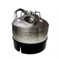Sanitační sud BAJONET - nerez slouží k proplachování pivního vedení vodou nebo pomocí sanitačního roztoku.