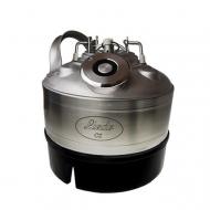 Sanitační sud PLOCHÝ - nerez slouží k proplachování pivního vedení vodou nebo pomocí sanitačního roztoku.