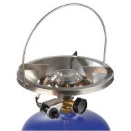 Oblíbený propan-butanový vařič Solo piezo s jedním hořákem je určený pro přípravu pokrmů na turistických výpravách a při pobytech v přírodě.