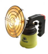 Rybářská plynová lampa NEPTUN. Pro směrové svícení. Hřeje a svítí. Ideální pro rybaření. Používá jednorázové propichovací kartuše (KP02001).