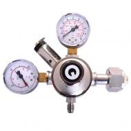 Redukční ventil na klasické lahve s CO2. Připojovací závit na lahev G3/4
