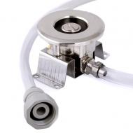 Sanitační set adaptér Plochý slouží k proplachování pivního chlazení vodou.
