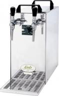 Chladicí zařízení KONTAKT 40 je ideálním pomocníkem v profesionálním komerčním využití i při soukromých akcích větších rozměrů. Rychle, levně a kvalitně nachladí až 100 piv během hodiny, navíc díky dvěma výčepním kohoutům práci znatelně urychlí a usnadní.