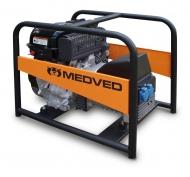 Benzínová 1f elektrocentrála MEDVED ARCTOS 5010H.