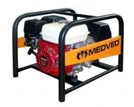 Profesionální benzínová elektrocentrála Arctos 5000 H AVR je díky svému výkonu a konstrukci vhodná pro náročný provoz, např. ve stavebnictví nebo při záchranných pracích.